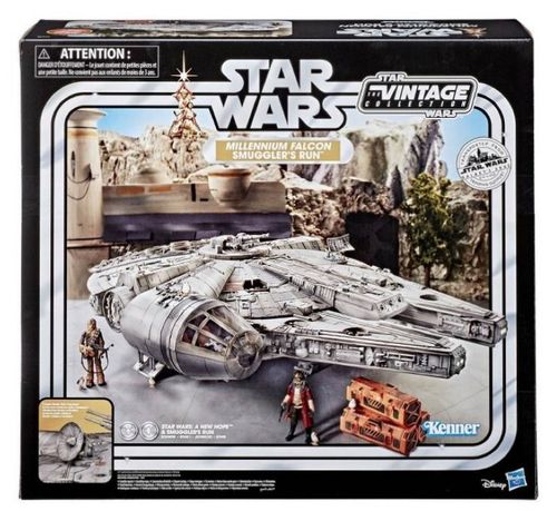 THE VINTAGE COLLECTION - MILLENNIUM FALCON (SMUGGLERS RUN) / GALAXY'S EDGE