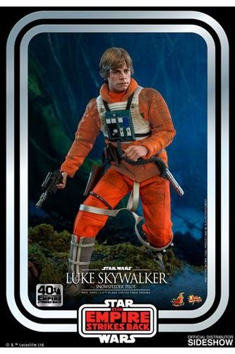 HOT TOYS STAR WARS 40th ANNIVERSARY ESB LUKE SKYWALKER (PILOT) 1/6  MMS585