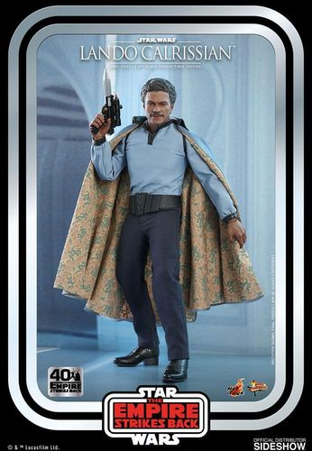 HOT TOYS STAR WARS 40th ANNIVERSARY ESB LANDO CALRISSIAN 1/6  MMS588