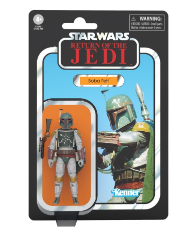 THE VINTAGE COLLECTION - BOBA FETT (ROTJ) 3,75""