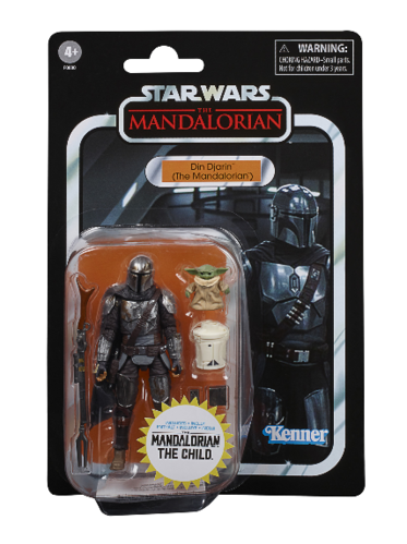 "THE VINTAGE COLLECTION - DIN DJARIN + THE CHILD (THE MANDALORIAN) 3,75"" / WALMART EXCLUSIVE"