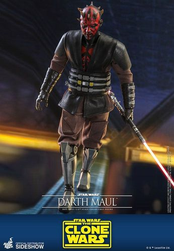 HOT TOYS STAR WARS DARTH MAUL (THE CLONE WARS) 1/6  TMS024