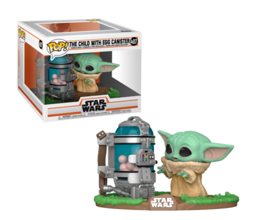 FUNKO POP STAR WARS THE MANDALORIAN - THE CHILD WITH EGG CANISTER #407