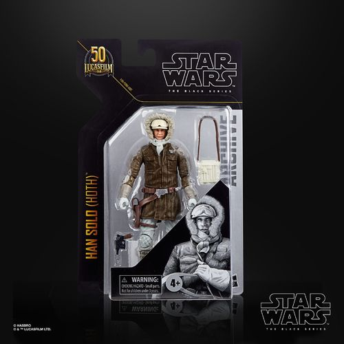 ARCHIVE LINE HAN SOLO (HOTH) 6""