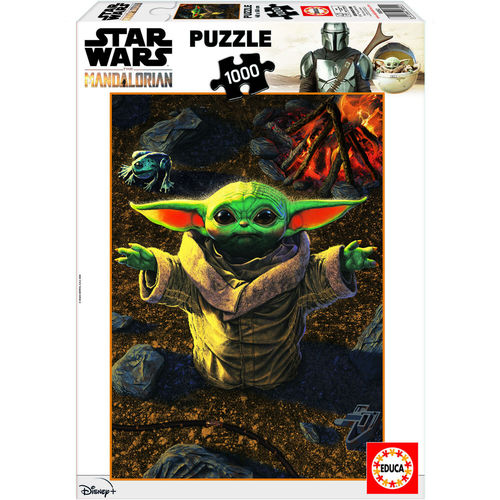 PUZZLE STAR WARS THE MANDALORIAN THE CHILD (GROGU) 1000 TEILE