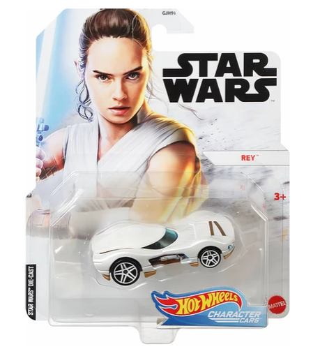 HOT WHEELS CHARACTER CARS - REY