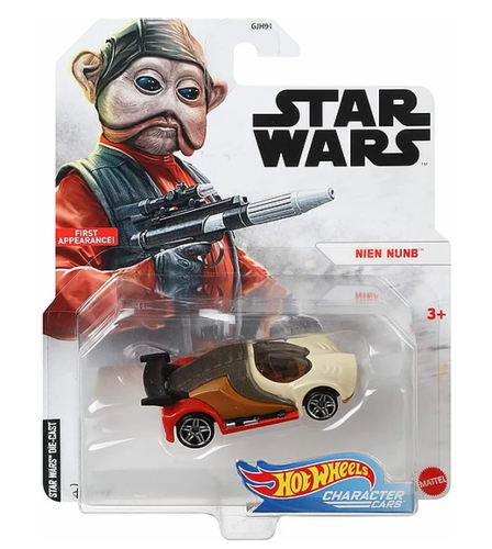 HOT WHEELS CHARACTER CARS - NIEN NUNB