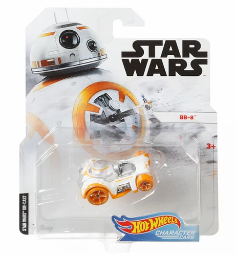 HOT WHEELS CHARACTER CARS - BB-8