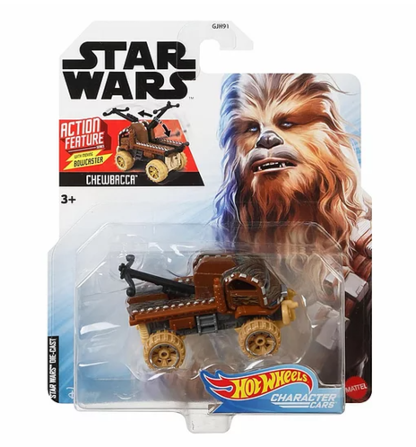 HOT WHEELS CHARACTER CARS - CHEWBACCA