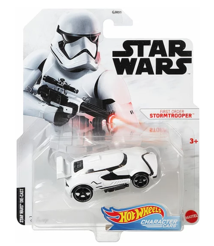HOT WHEELS CHARACTER CARS - FIRST ORDER STORMTROOPER