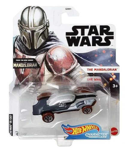 HOT WHEELS CHARACTER CARS - THE MANDALORIAN