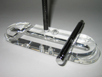 Fountain Pen Holder / Ballpoint Pen Holder clear