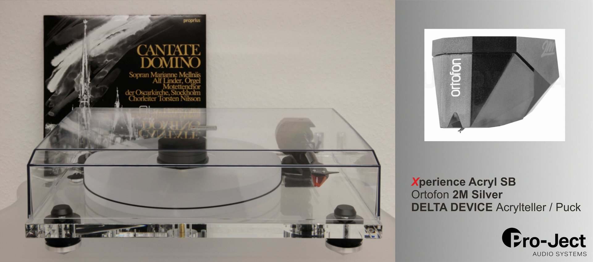 PRO-JECT Xperience ACRYL SB DeltaDevice Silver Edition Upgrade