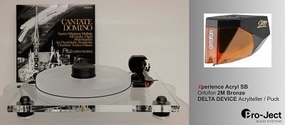 PRO-JECT Xperience ACRYL SB DeltaDevice Bronze Edition Upgrade