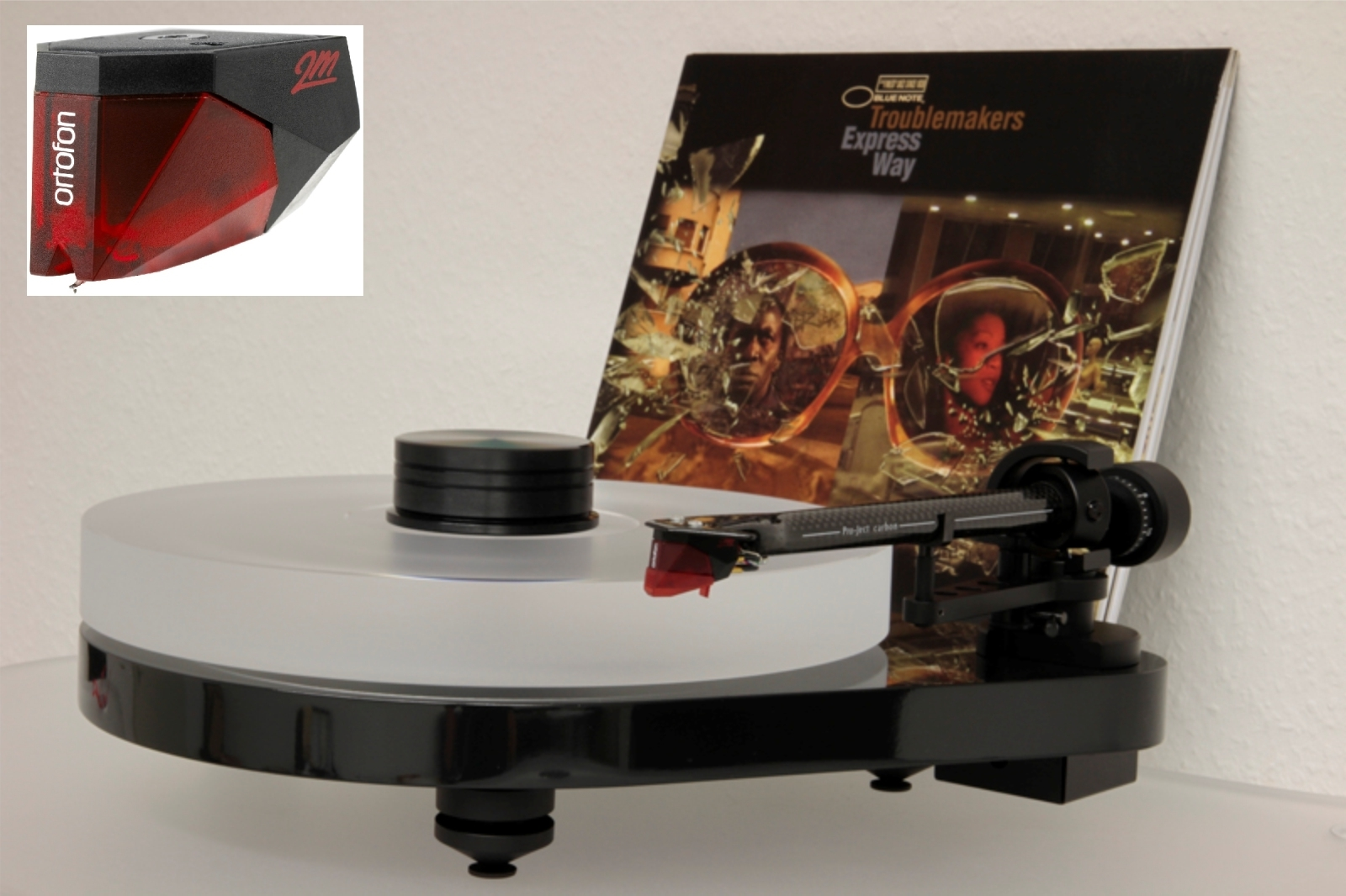 PRO-JECT RPM 5.1 Plattenspieler DELTA DEVICE / Ortofon Red / Edition Upgrade