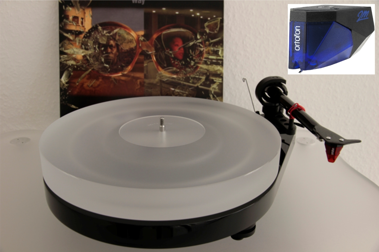 PRO-JECT RPM 5.1 Plattenspieler DELTA DEVICE / Ortofon Blue / Edition Upgrade