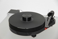 ACRYLIC PLATTER for Turntable Pro-Ject RPM 5.1 | RPM 5 - RPM 4 black 30mm
