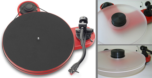 PRO-JECT RPM 1 CARBON + DELTA DEVICE UPGRADE | ohne Tonabnehmer - chassis: rot