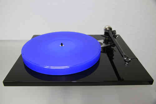 ACRYLIC PLATTER UPGRADE for Rega RP6 turntable :: 27mm blue
