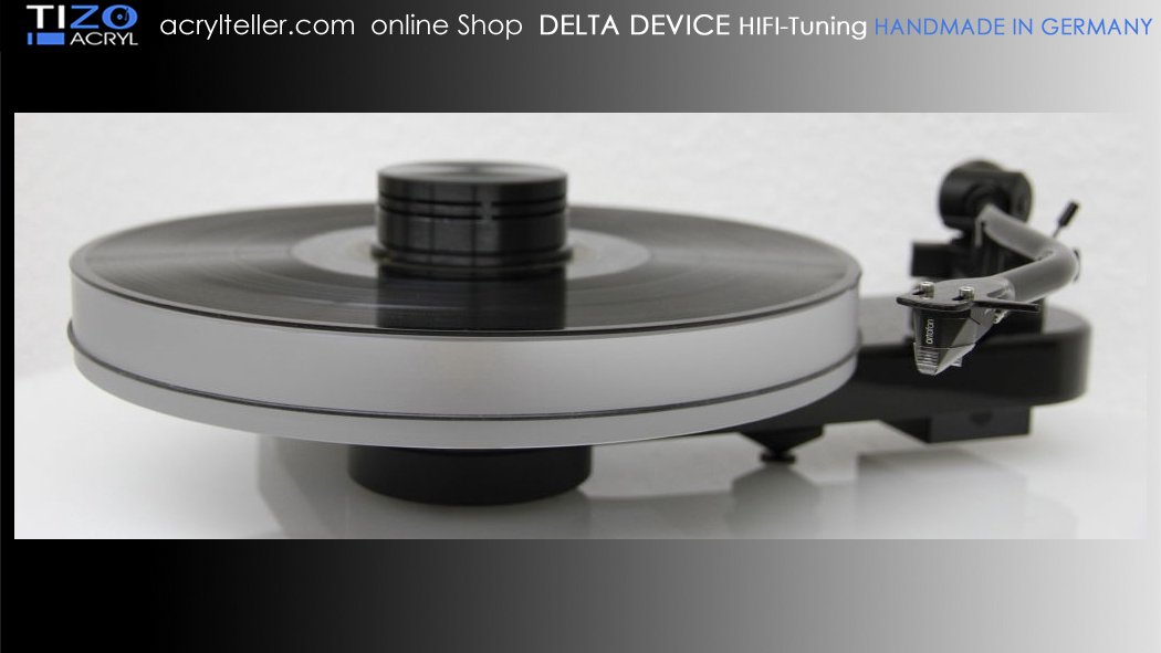PRO-JECT RPM 3 CARBON turntable + DELTA DEVICE UPGRADE | chassis: black