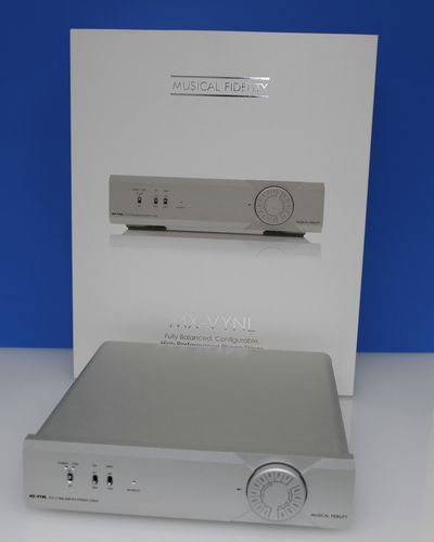 Musical Fidelity MX - VYNL High Perfomance MM/MC Phono Pre-Amplifier