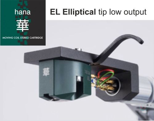 HANA EL Elliptical tip low output cartridge