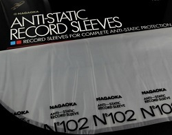NAGAOKA Discfile No.102 Anti-static Record Sleeves