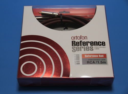 Ortofon Reference RED Interconnect cable - 1,5m
