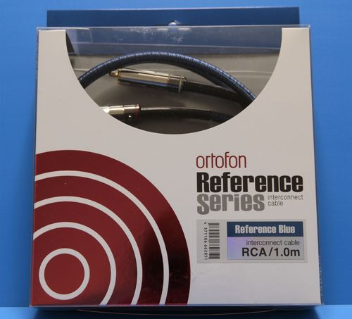 Ortofon Reference BLUE Interconnect Cable - 100cm
