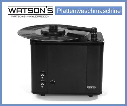 WATSON´S RCM 230V Record Cleaning Machine