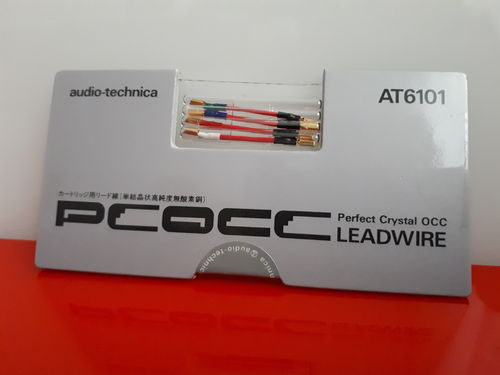 AUDIO TECHNICA AT6101 Cartridge to headshell PCOCC lead wires
