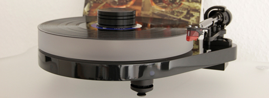 Turntable Pro-Ject RPM 5.1 + DELTA DEVICE Upgrade Acrylic Platter 35mm and 180g Puck