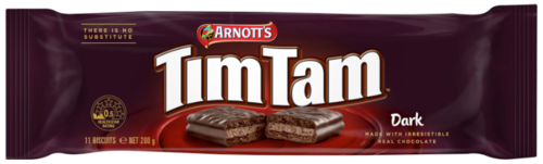 TimTam Dark Chocolate,      1,99 €/100g
