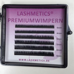 Ultra kurze Wimpern - ab 4 mm im Mini-Mixtray