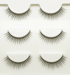 Magic Lashes - Bandwimpern by LASHMETICS® - 3 Paare - transparentes Band!
