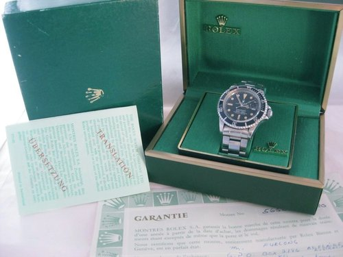 1979 Rolex Submariner Date 1680 - Box and Papers