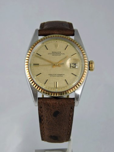 1973 Rolex Datejust 1601 18k/Steel