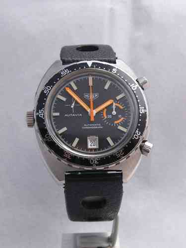 1970s Heuer Autavia Automatic - serviced