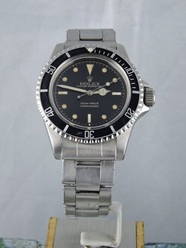 1962 Rolex Submariner 5512 PCG, Gilt CR