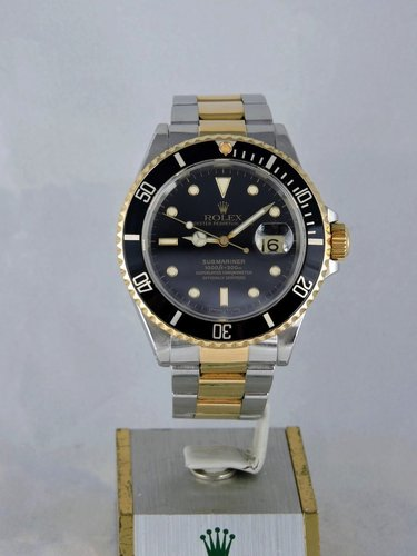 1992 Rolex Submariner 18k/Steel, Box & Papers