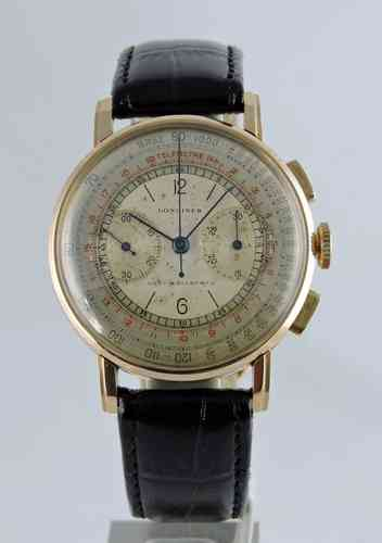 1941 18k Longines Flyback Chronograph 13zn