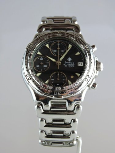 1996 Zodiac Gold Point Chronogrpah