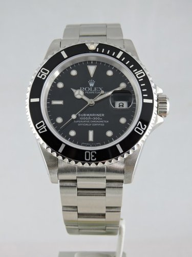 1996 Rolex Submariner Date 16610 - Serviced