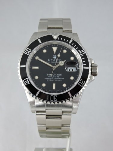 1986 Rolex Submariner Date 168000-Transitional