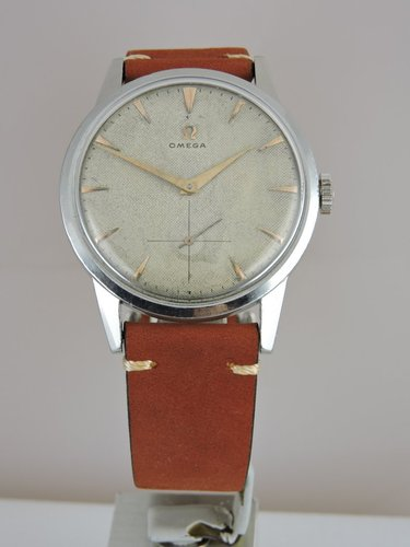1946 Omega Oversize Honeycomb Dial - serviced