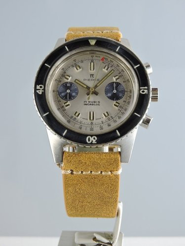 1960s Pierce Diver Chronograph V.7733
