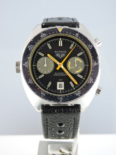 1979 Heuer Autavia Orange Boy 11630MH