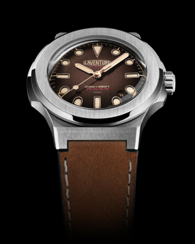 2017 Laventure Marine Brown Dial - New Full Set