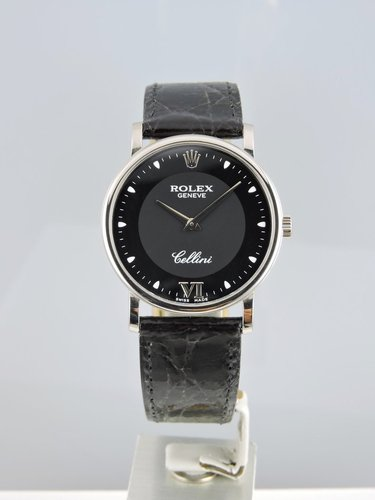 2002 Rolex Cellini 18k White Gold - B&P