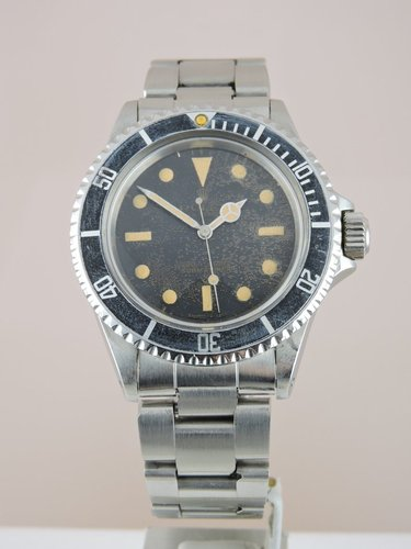 1966 Rolex Submariner 5513 Gilt Dial